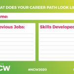 2020 Career Path Door Signs