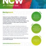 NCW 2020 Promotional Flyer