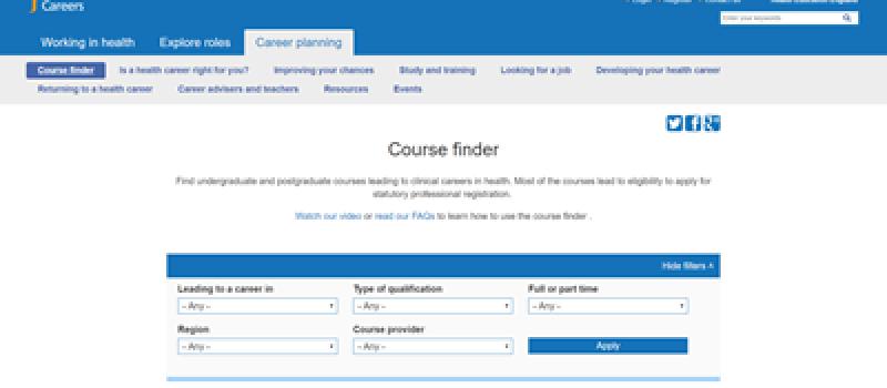 course-finder